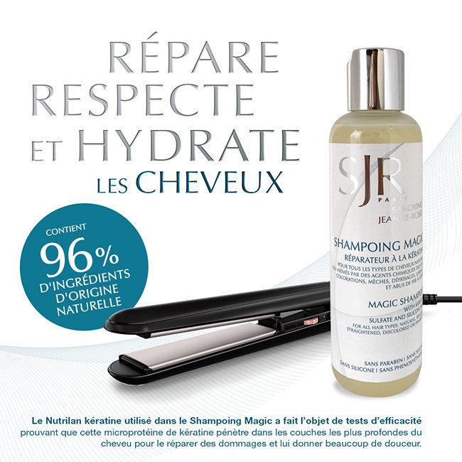 Assez Shampoing sans sulfate à la kératine cheveux défrisés BH29