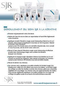 Sandrine Jeanne-Rose - Protocole de soins kératine
